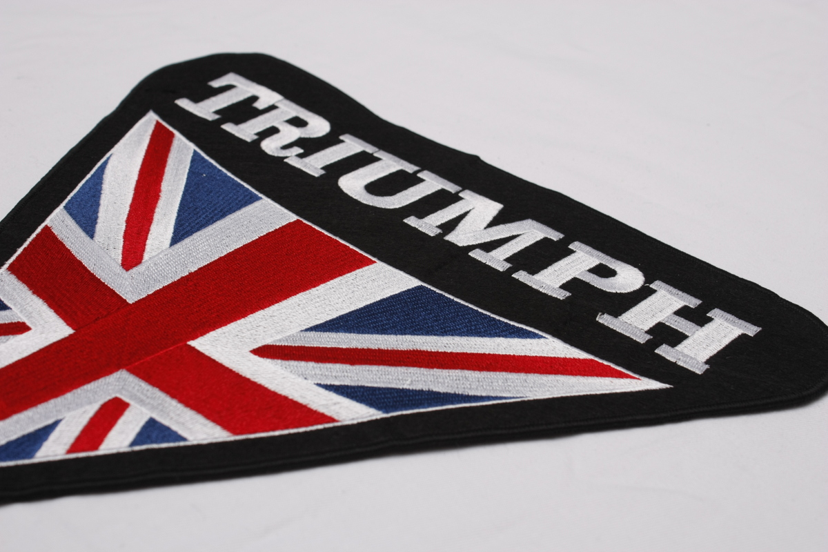 Custom Embroidered Patches Highest Quality Merrow