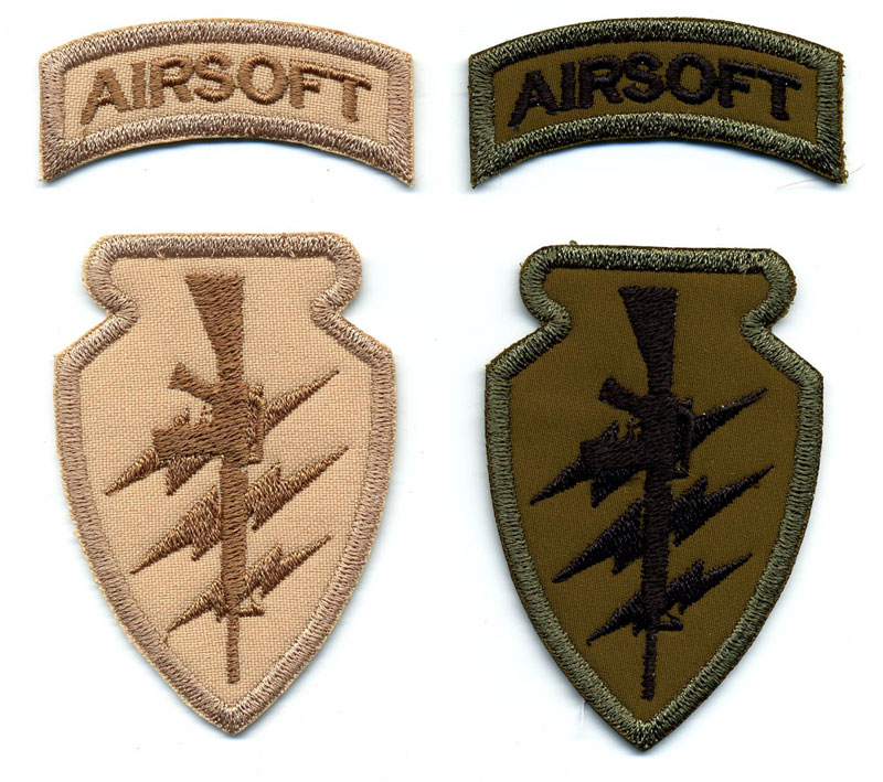 ASG Emblems Custom Embroidered Patches Highest Quality