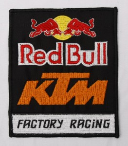 red bull ktm merrow border patch