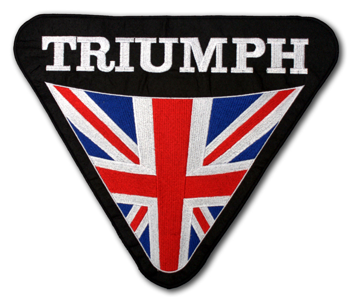 Triumph Patches Custom Embroidered Patches Highest Quality