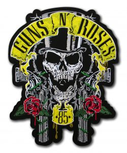 Large Back Guns N Roses 85 patch